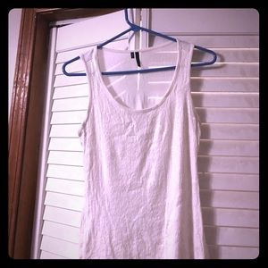 Sequence white tank top! Excellent condition!